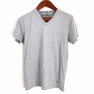 Abercrombie & Fitch Md Classic V Neck Short Sleeve